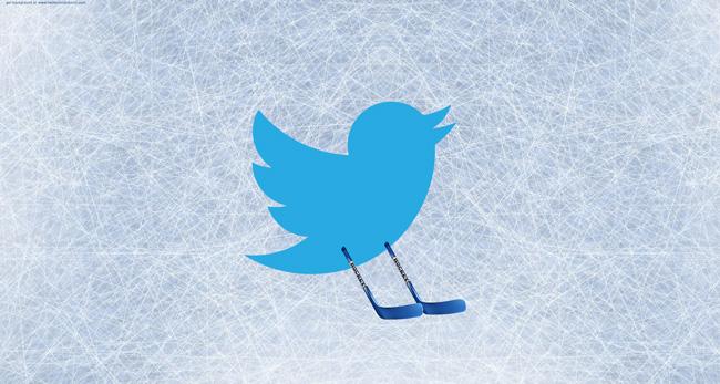 Le hockey sur Twitter