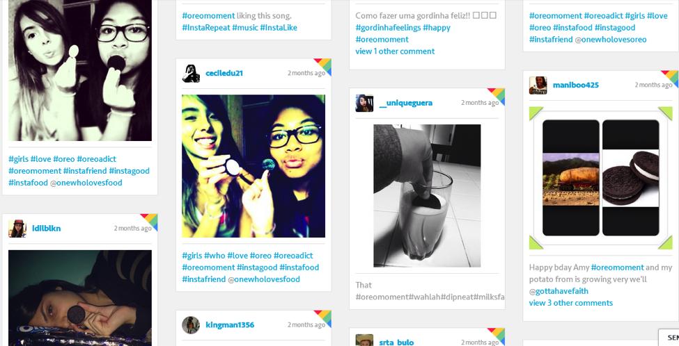 Pinterest hashtags de marque